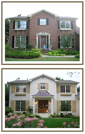 Home Exterior Renovation Before And After Glamorous 20 Home Exterior Makeover Before And After Ideas  Home Stories A To Z Inspiration Design