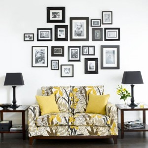 Behind the sofa gallery wall 300x300