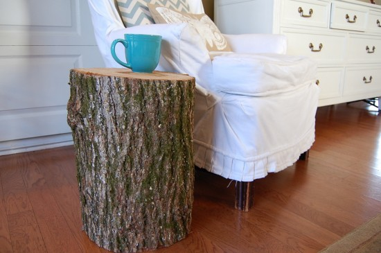 how to make a stump table