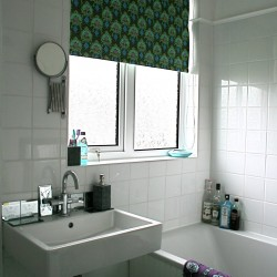 no sew custom roller shade