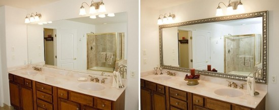 Bathroom Mirror Makeover mirrormate giveaway - renovations - haven home - business directory