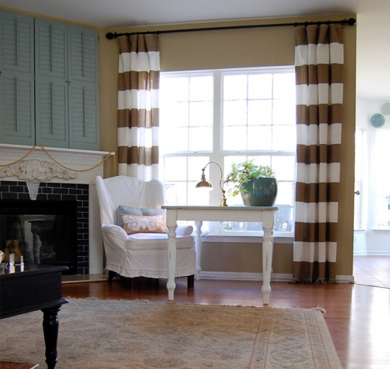 The Nester Horizontal Striped Curtains