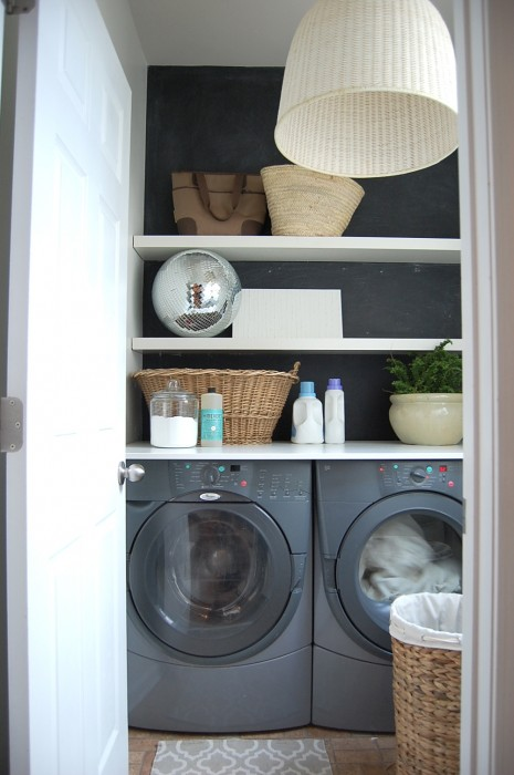 A Renter S Laundry Room Makeover