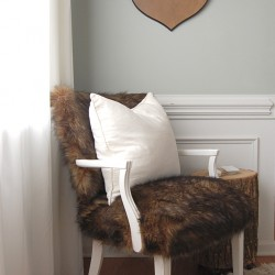no sew fur chair