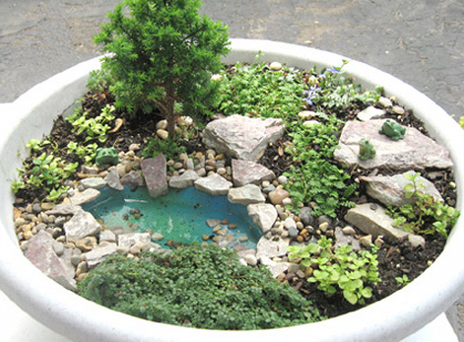 Garden Design: Garden Design With How To Design A Fairy Garden