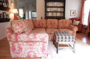 toile sofa