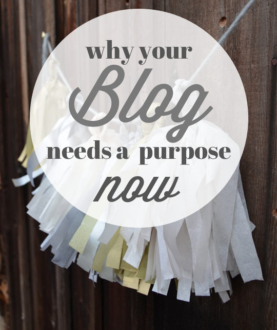 blog purpose statement