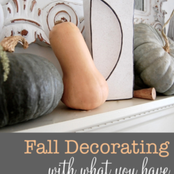 Super easy before Thanksgiving fall-i-tizing