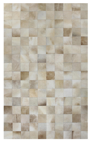 Agora Leather rug