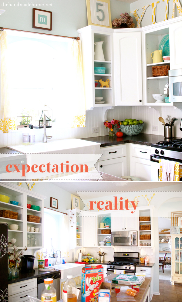 dream house expectation reality