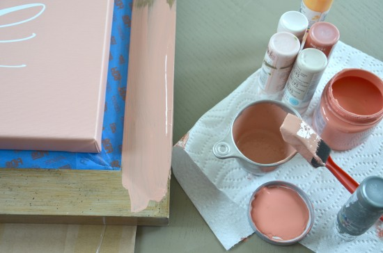 pretty coral paint color