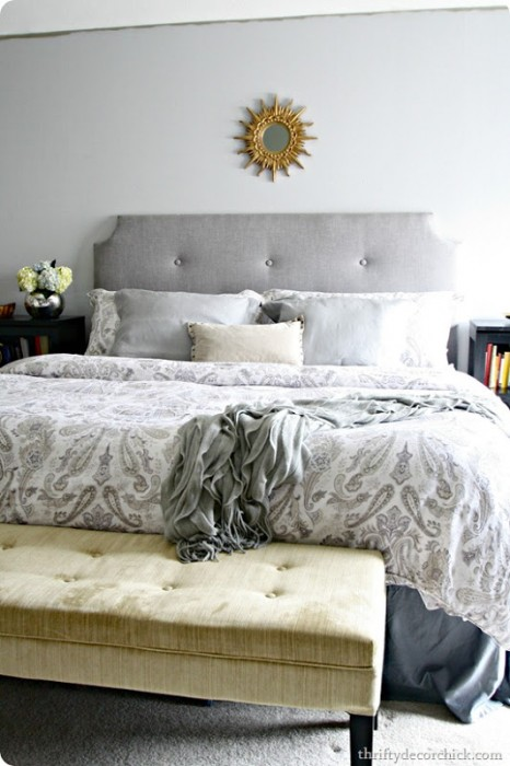 DIY tufted headboard tutorial