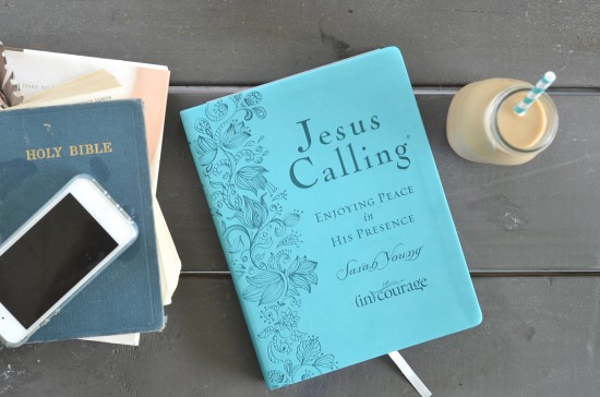 blue jesus calling