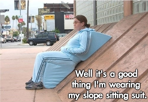slope sitting