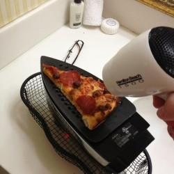 DIY Pizza heater upper