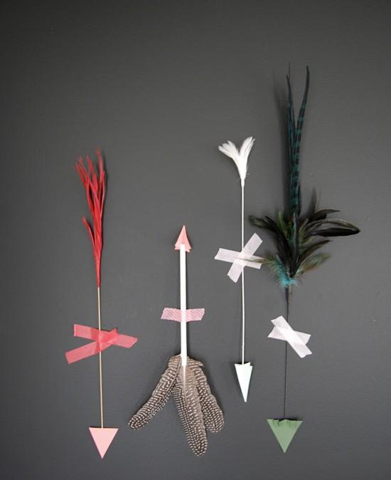 valentine arrows DIY