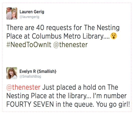 library wait list