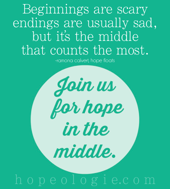 hope in the middle