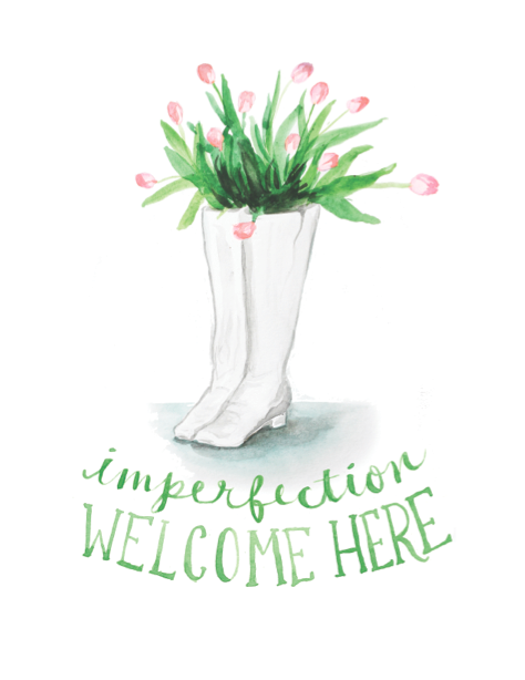 annie barnett: imperfection welcome here