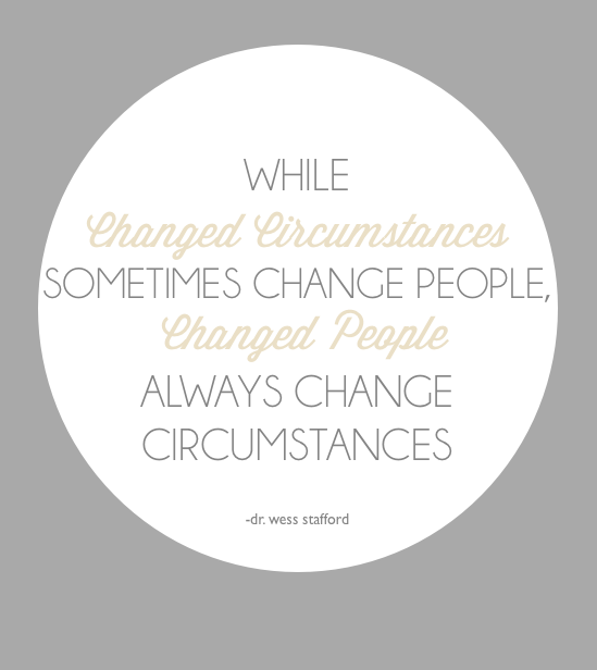 changed people