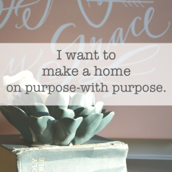 a home on purpose with purpose