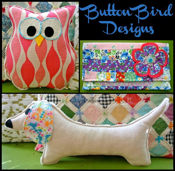 button bird designs