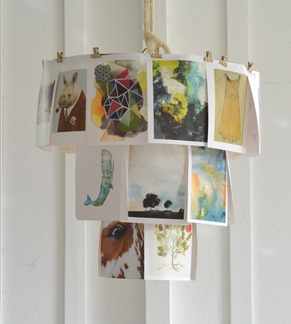 bookpage light fixture