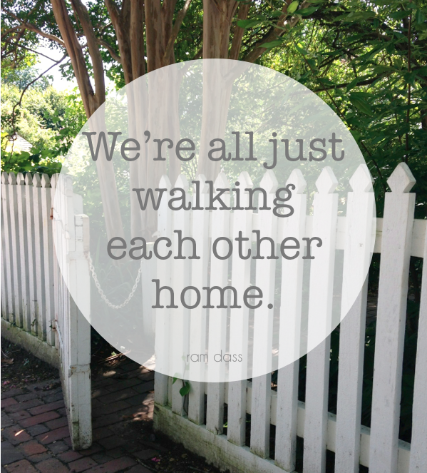 walking each other home