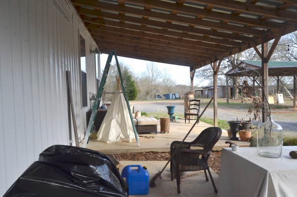 barn porch