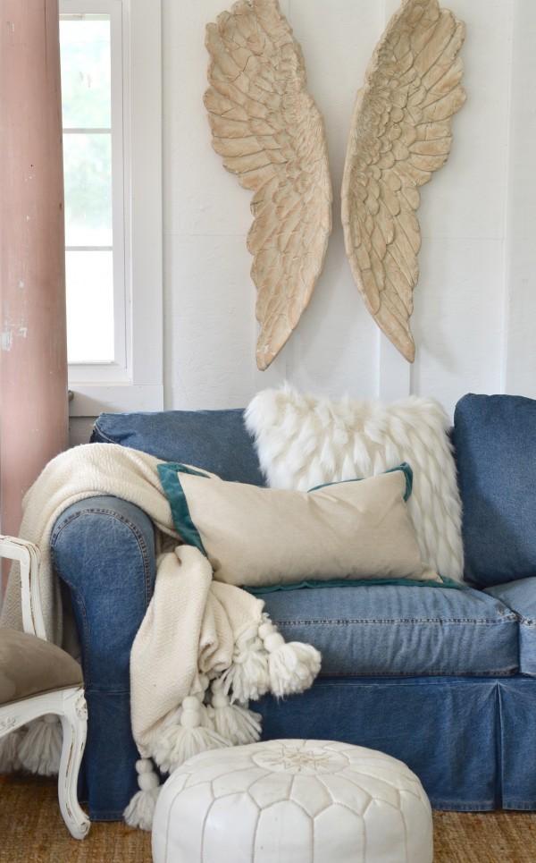 style a sofa