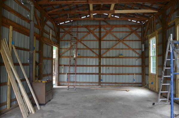 barn before