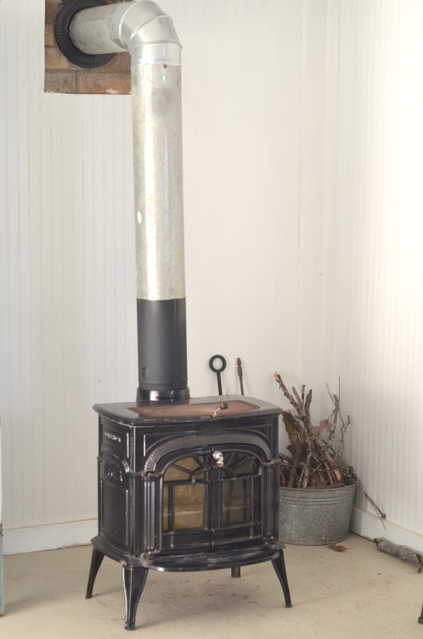 tiny wood stove
