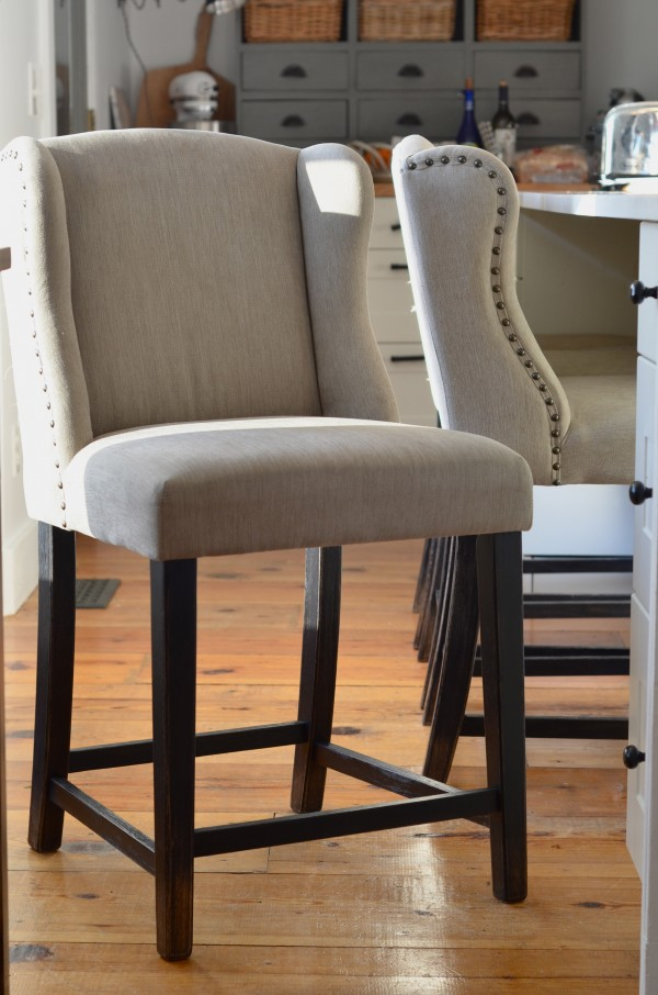 Lessons From A Small House Evaluate Your Seating on Counter Height Bar Stool Chair