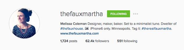 The Faux Martha