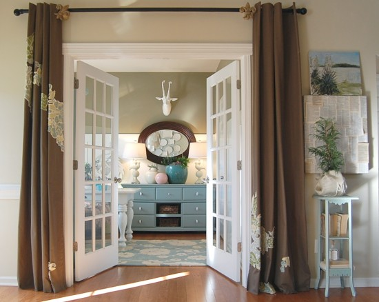 Charming No Sew Curtains