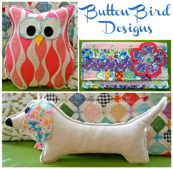 button bird designs